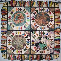 Noodle Box quilt pattern. $24.00, via Etsy.