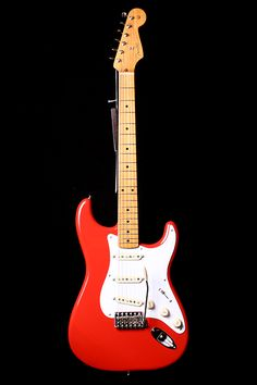 Fender Mexican Stratocaster Fiesta Red