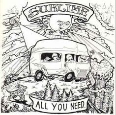 Sublime / Wesley Willis Fiasco* - All You Need / Wesley Willis Fiasco (Vinyl) at Discogs Pattern Coloring Pages, Free Adult Coloring Pages, Cute Coloring Pages, Coloring Sheets, Coloring Books, Hippy Art, Wood Burning Stencils, Hippie Trippy, Stickers