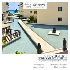 Aldea Thai Two Bedroom Apartment | Playa del Carmen INFO: alopez@sirmexico.com