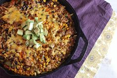 Tex-Mex Chicken & Rice Skillet