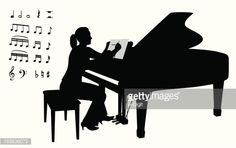 Afficher l'image d'origine Silhouettes, Vector Art, Diy And Crafts, Images, Movies, Movie Posters, Pianos, 2016 Movies, Film Poster