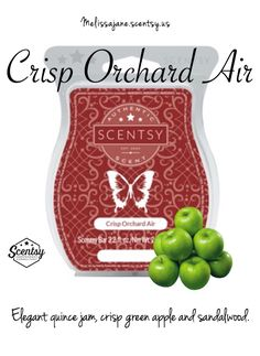 Scentsy 2016 | Crisp Orchard Air | New release | Fall & Winter | #scentsy…