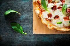 Pizza - El Primer Bocado. Fotografía Gastronómica