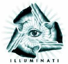 The illumanti eye------------- we got you all figured out Satan. I rebuke you