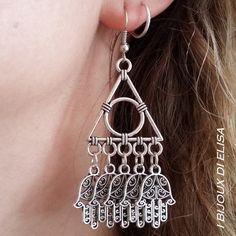 Ethnic style! #orecchini #earrings #hamsa #hamsahand #manodifatima #jewels #handmadejwels #bijoux #bigiotteria #ethnicstyle #etsy #etsyseller #etsystore #estsyshop
