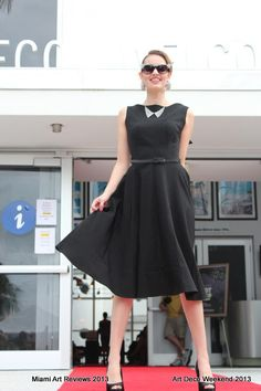 Bettie Page dresses are sold at Official Art Deco Gift Shop at 1001 Ocean Drive, Miami Beach!
