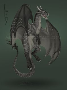 Commission - Dragon by *Mikaley on deviantART