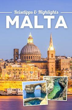 Malta in 5 days: 15 great travel tips and highlights for your Malta trip Europe Destinations, Travel Goals, Travel Tips, Travel Guides, Malta Travel Guide, Malta Beaches, Malta Valletta, Malta Gozo, Reisen In Europa