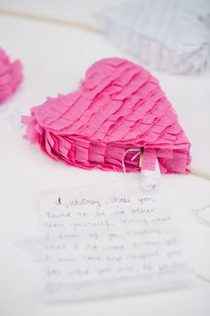 Pinata Cake Toppers  A Subtle Revelry.  Place a copy of your vows inside your piñata.  When you celebrate your 1st anniversary, break open the piñata and re-read your vows to each other.