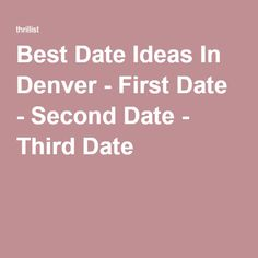 Third date ideas winter