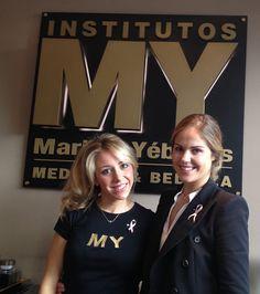 Equipo del Instituto de #Belleza y #Medicina Estética Maribel Yébenes