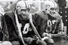 Green Bay Packers - 1960s File Photos  (L to R) Henry Jordan and Willie Davis Photo by: Vernon J. Biever (Photo by Vernon Biever/NFL)