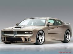 Dodge Charger RT Hemi - I like that early 70s vintage grille look on this car.