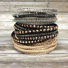 TRENDING: Stack & Layer it up with Swarovski Slake bracelets by Day's Jewelers