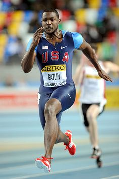 Justin Gatlin, track and field (United States )