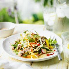 Vietnamese salad with roast duck