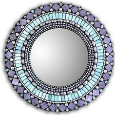 "Mirror Turquoise & Purple 10"" now featured on Fab."