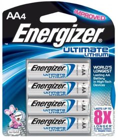 Energizer AA Ultimate Lithium Batteries 4 Pack *** Be sure to check out this awesome product.