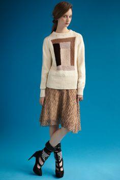 Rodarte : Amish Quilt Motif Sweater