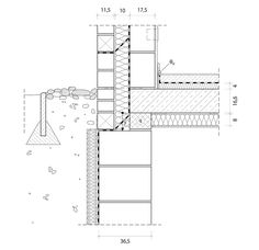 detail auflagerung vorsatzschale stroescu pinterest architektur architektur zeichnungen. Black Bedroom Furniture Sets. Home Design Ideas