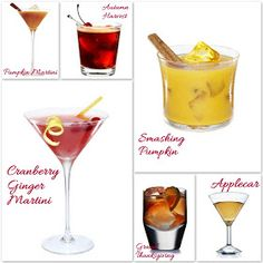 Lily Lemontree: LIFESTYLE :: The Cocktail Hour ~ A Toast to Thanksgiving!