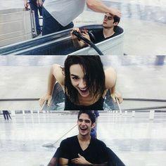 Dylan, Cristal, Tyler. Teen Wolf.