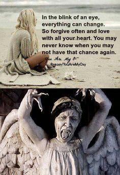 I love the Weeping Angels even though they are d*cks