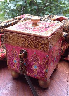 """Кухня ручной работы. Ярмарка Мастеров - ручная работа. Купить Короб для кухни """"Марокко""""  из коллекции. Handmade. Фуксия, мароканский стиль"""