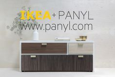 That's what I'm talkin' about!  Multi-panel unit  IKEA Hackers: Vote for the IKEA Hack of 2012.