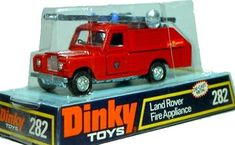 #diecast #Dinky 282 Land Rover Fire Appliance new or updated at www.diecastplus.info