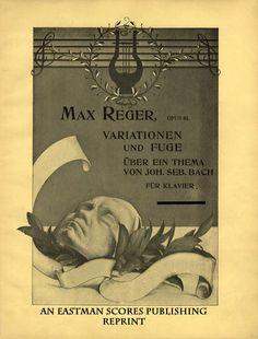 Reger, Max : Variationen und Fuge uber ein Thema von Joh. Seb. Bach : fur Klavier, op. 81 [Revidiert von Theodor Prusse]