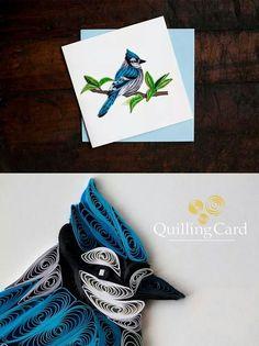 Bird Paper Quilling