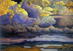 Celestial Battle, by Nicholas Roerich