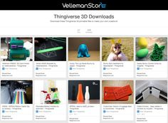 Looking to 3D Print some awesome new creations? Check out our new 3D Design Hub on #pinterest! http://ift.tt/1Tk8UAJ ____________ #velleman #vellemanstore #3dprinting #k8200 #k8400 #vertex #vertexk8400 #vellemank8200 #vellemanvertex #thingiverse #3dprint #3dprinter #filament #colorfab #maker #geek #tech #technology