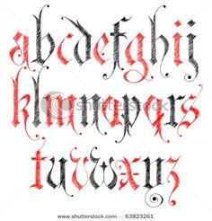 294 Best GothicBased Calligraphy Images On Pinterest
