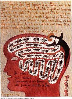 Ex voto - Le formiche mentali, 1970 Dino Buzzati