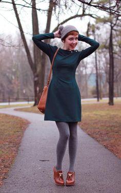 Outfit collants gris, comment les porter? https://one-mum-show.fr/les-collants/