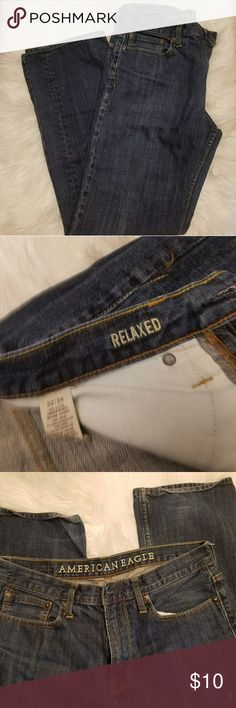 Men's American Eagle Jeans Men's jeans Relaxed fit  size  32/34 No holes American Eagle Outfitters Jeans Relaxed