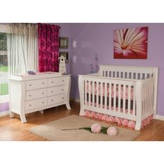 Kidz Decoeur Augusta Collection North American Made Solid Wood Nursery Furniture