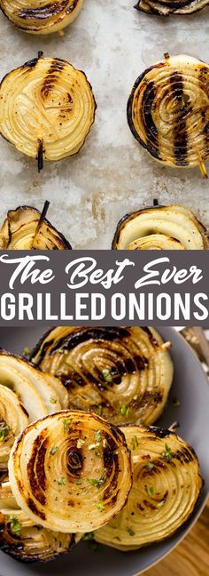 These are the best ever grilled onions! Learn how to make perfectly grilled onions that everyone will rave about! Grilling Recipes | Onion Recipe | How to grill onions | grilling side dishes | BBQ recipes