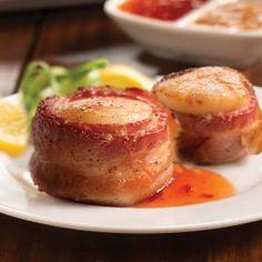 Jumbo Bacon-Wrapped Scallops