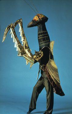 My first Praying Mantis costume