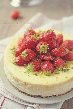 Cheesecake aux gariguettes #AmusesBouche
