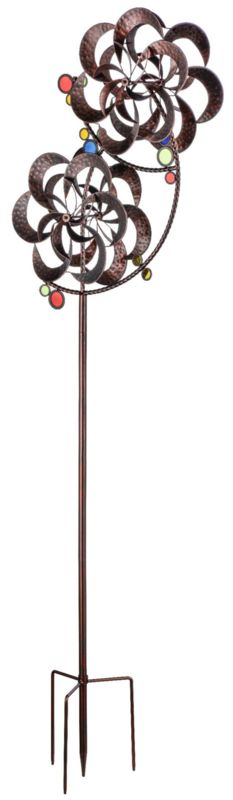 Sculpture windspel Duo   Windmolen & tuinsteker   Steeg80 moestuin enzo Decor, Decoration, Decorating, Deco