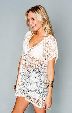 Mumu Lace - Cream Triangle Crochet | Show Me Your MuMu