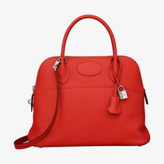 0adf9e034b Hermes bag in taurillon Clemence leather Shoulder strap and hand strap  Silver and palladium plated hardware