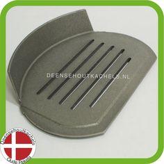 Cast iron grate Morsø 6100 serie stove./ Gietijzeren bodemrooster Morsø 6100 serie.