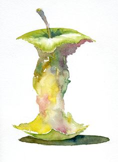 apple watercolor - Google Search
