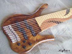 9 string bass guitar.